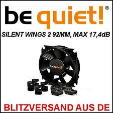 [BE quiet! ®] silentwings 2 92mm pwm Boîtier ventilateur/fan → 17,4db Case refroidisseur 9,2cm