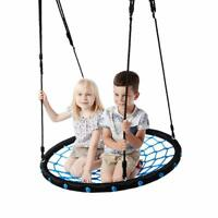 Daisy Disc Swing Kids Seat Swing Rope Tree Fun Outdoor Summer Play 264 LBS Cap.
