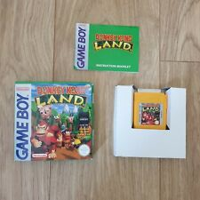 Gameboy Donkey Kong Land. Boxed with manual