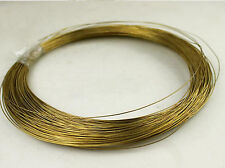 2mm * 5m H62 Copper Brass Wire Rod Industry Experiment DIY Materials #A278d
