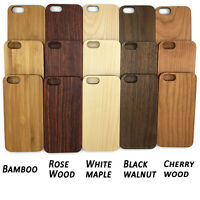 1PC Phone Cover Case Wood Wooden for iPhone X 8 7 6 6s Plus 5 4 Samsung Galaxy S