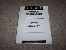 2005 Jeep Liberty Electrical Wiring Diagram Manual Sport Renegade Limited Diesel
