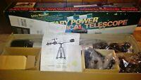 Vintage Jason Rotary Power Astronomical Telescope Model 500-DSM 540x Power NICE!