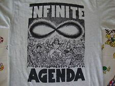 INFINITE AGENDA heavy metal punk rock concert tour T shirt Men's Size M