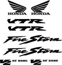 Firestorm Bike - Motorbike - Decals - Vinyl - Sticker Car - Van - Wall Art