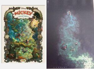 Mickey E L'oceano Perduto Filippi Silvio Camboni con Litografia firmata Camboni