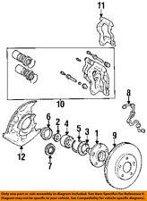 TOYOTA OEM 92-95 MR2 Front Brake-Disc Rotor 4351217080