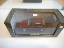 Minichamps Ford Fiesta in Red on 1:43 in Box