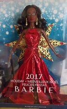 Barbie noire afro-américaine Happy Holiday 2017 merveilleux Noel Nikki