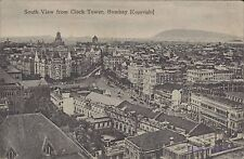 INDIA BOMBAY SOUTH VIEW FROM CLOCK TOWER 74-1-27-2