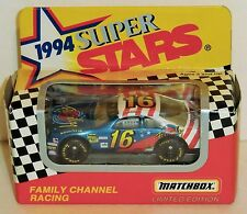Ted Musgrave #16 Family Channel 1994 1/64 Matchbox Superstars Thunderbird Stock