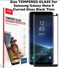 ZIZO CURVED GLASS Black Screen Protector (Case Friendly) Samsung Galaxy Note 9