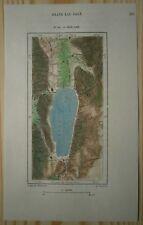 1892 Perron map BEAR LAKE, IDAHO / UTAH (#154)