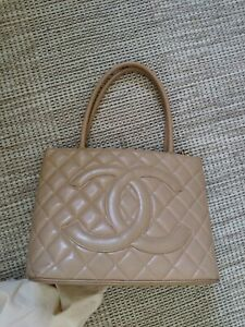 Chanel Medallion Tote VINTAGE Authentic