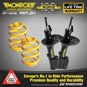 Front Lower Monroe Shock Absorbers King Spring for MAZDA 323 FWD BD BF Sdn Hatch