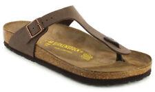 Sandalias con tiras de mujer de color principal marrón talla 38