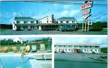 BREWER, Maine  ME   Roadside  TWIN CITY MOTOR INN  ca 1970s   Postcard