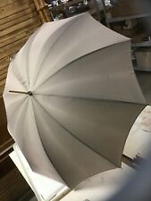 Vintage Umbrella Bamboo Style Handle Light Brown Color