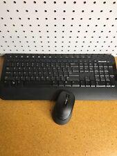 Microsoft 2000 Wireless Keyboard And Wireless Mouse Model 1477 1416 No Dongle