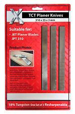 JPT310 30.5cm CARBIDE Jet Planer blades 1SETOF 3 blades 310 x 25 x 3 310253TCT