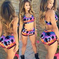 New Women Bandage Bikini Set Padded Push Up Swimwear Swimsuit Bathing Suit Beach