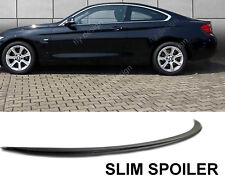 heckspoiler BMW Tuning F32 F30 m sport SCHWARZ Lackiert spoiler felgen hecklippe