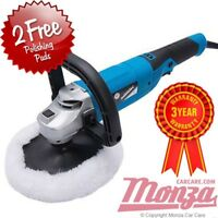NEW!! Silverline **VARIABLE SPEED** Rotary Machine Car Polisher Complete Kit