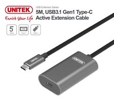 New Unitek U305AGY 5M USB 3.1 Type-C Active Extension Cable
