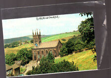 Unused Postcard, Saddleworth, Church of St Chad.