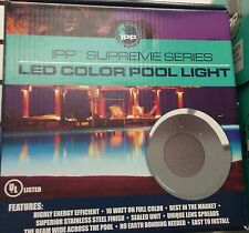 New 2017 Universal Color Light 4.0 Led Swimming Pool Light Ss 50' Cord Fits