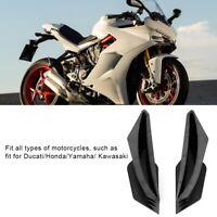 1 paio Winglet carenatura Kit Winglet aerodinamico moto Per Honda Yamaha Ducati