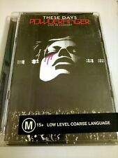 Powderfinger These Days LIVE in concert 2 DVD set/2004 Australia Great condition