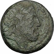 Amphipolis in Macedonia 187BC Rare  Ancient Greek Coin ZEUS Eagle  i46501