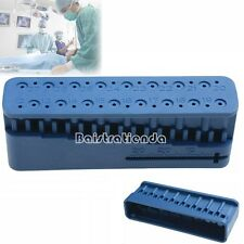 1Pc Dental Root Canal Endodontic Block Files Measurement Ruler Units Instrument