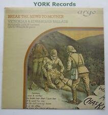 Spezza la notizia a madre-Vittoriano ed Edwardiano ballate-ex con LP RECORD ARGO