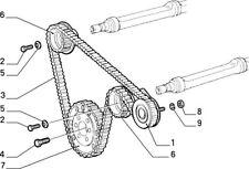 Balance Shaft Belt Tensioner Genuine Alfa Romeo 147 155 156 166 GT 55221253