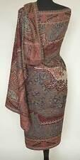 Large Kani Jamavar Wool, Paisley Shawl Grand Style Pashmina Mogul Motif