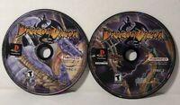 Dragon Valor (Sony PlayStation 1, 2000) PS1 Discs Only Tested