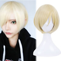 Black ButlerⅡ Alois Trancy Cosplay Wig Short Blonde Party Fashion Casual Hair