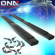 "FOR 2007-2018 SILVERADO/SIERRA CREW CAB PAIR 6""SIDE STEP NERF BAR RUNNING BOARDS"