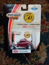 Matchbox 1:64 50th Anniversary 2002 Collection 1933 Ford Coupe 96977