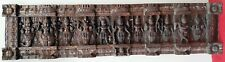 Hindu Gods Art Vintage Handcrafted Wall Panel Wooden Statue Sculpture panel
