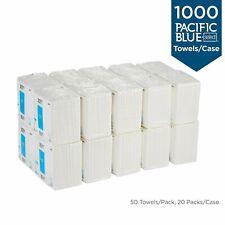 "20 PACKS  Georgia Pacific Blue 80534 Select 50 Disposable Patient 13""x13"" Towel"