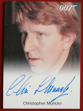JAMES BOND - The Spy Who Loved Me - CHRISTOPHER MUNCKE, Crewman - Autograph Card