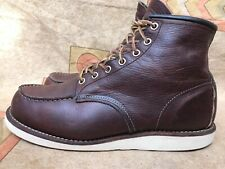 Red Wing Heritage 8138 Heritage Classic Moc Toe Briar Sz US 8.5 D | UK 7.5