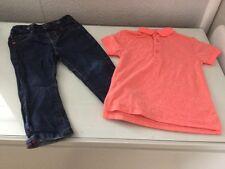 Baby Boy next 12-18 MOIS & 1 1/2 - 2 ans haut/pantalon/jeans/T-shirt EXCELLENT