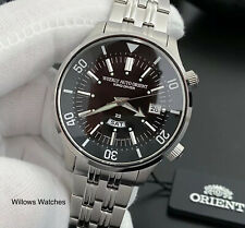 Orient King Diver Weekly Auto 200M Black Dial Mens Watch RA-AA0D01B1HB Brand New