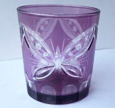 Seltenes Wasser/ Saft/ Whisky-Glas Kristallglas Handschliff Nachtmann? N57