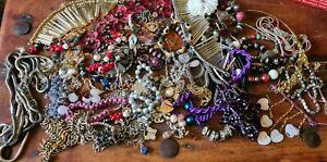 Vintage - Modern Costume Jewellery Bundle- for refurb, spare or repair