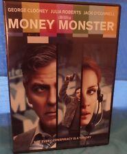 Money Monster (DVD, 2016), CLOONEY, ROBERTS, (Loc:org)